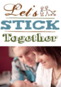 Let's Stick Together logo and photo