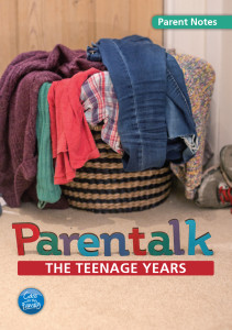 Parentalk - The Teenage Years Parent Handbook cover
